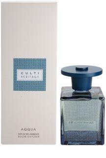 Culti Heritage Aqqua Aroma Diffuser With Refill 500 ml II. (Blue Arabesque)