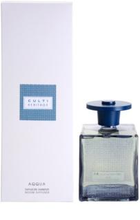 Culti Heritage Blue Arabesque Aroma Diffuser mit Nachfüllung 1000 ml  (Aqqua)