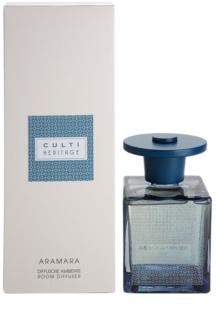 Culti Heritage Blue Arabesque roma Diffuser met navulling 500 ml Kleinere Verpakking  (Aramara)