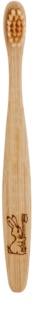Curanatura Junior bambusová zubná kefka pre deti extra soft