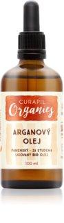 Curapil Organics aceite de argán para cuerpo y cabello