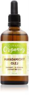 Curapil Organics aceite de macadamia para cuerpo y cabello