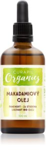 Curapil Organics makadamijevo olje za telo in lase