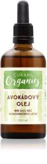 Curapil Organics aceite de aguacate para cuerpo y cabello