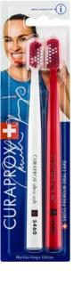 Curaprox Limited Editions Martina Hingis escovas de dentes 2 unidades