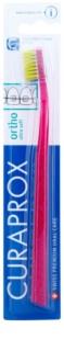 Curaprox Ortho Ultra Soft 5460 fogszabályozó fogkefe a rögzített fogszabályozó használóinak