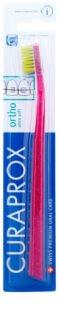 Curaprox Ortho Ultra Soft 5460 escova de dentes ortodôntica para utilizadores de aparelho ortodôntico fixo