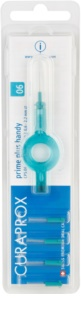 Curaprox Prime Plus Handy CPS Spare Interdental Brushes 5 pcs + Holder