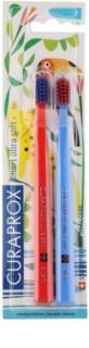 Curaprox 7600 Smart Ultra Soft Jungle Edition Tandenborstels 2st. voor Kinderen