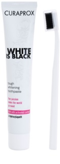 Curaprox White is Black lote cosmético I.