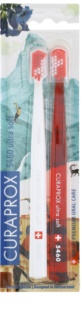 Curaprox 5460 Ultra Soft Swiss Edition - Zermatt spazzolini da denti 2 pz