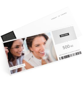 Dárková poukázka elektronická v hodnotě 500 Kč – nyní se slevou 10 %, která se vám automaticky odečte v nákupním košíku