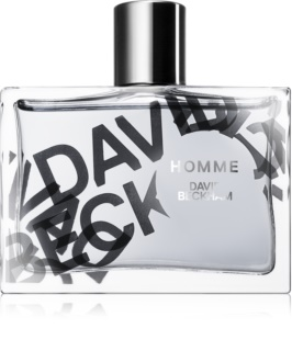 David Beckham Homme Eau de Toillete για άνδρες 75 μλ