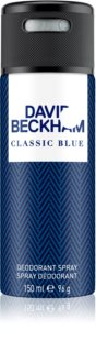 David Beckham Classic Blue deodorant spray para homens 150 ml