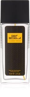 David Beckham Classic Touch dezodorant z atomizerem dla mężczyzn 75 ml
