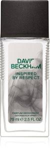 David Beckham Inspired By Respect dezodorans u spreju za muškarce 75 ml
