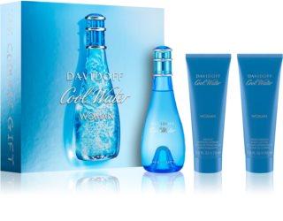 Davidoff Cool Water Woman set cadou XIV.