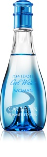 Davidoff Cool Water Woman Caribbean Summer Edition eau de toilette para mulheres 100 ml