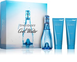 Davidoff Cool Water Woman подаръчен комплект XVI.
