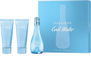 Davidoff Cool Water Woman poklon set XI. za žene
