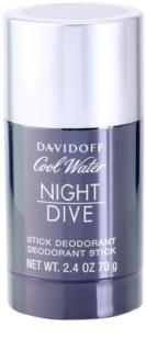 Davidoff Cool Water Night Dive dezodorant w sztyfcie dla mężczyzn 70 g