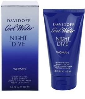 Davidoff Cool Water Night Dive leite corporal para mulheres 150 ml