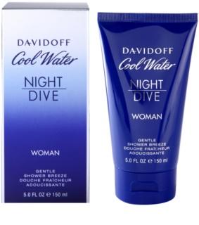 Davidoff Cool Water Night Dive żel pod prysznic dla kobiet 150 ml