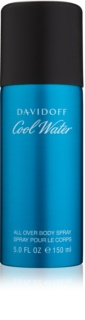 Davidoff Cool Water spray corporal para homens 150 ml