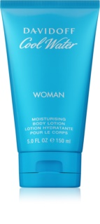 Davidoff Cool Water Woman leite corporal para mulheres 150 ml