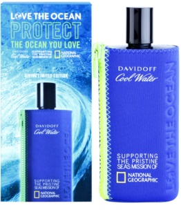 Davidoff Cool Water National Geographic Limited Edition toaletna voda za moške 200 ml