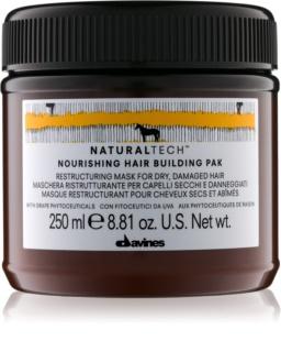 Davines Naturaltech Nourishing maska pro suché a poškozené vlasy