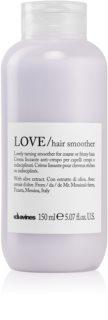 Davines Love Olive uhlazující krém pro nepoddajné a krepatějící se vlasy