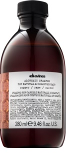 Davines Alchemic Copper Shampoo To Support Hair Color
