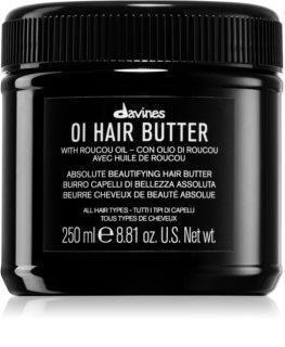 Davines OI Hair Butter maslac za dubinsku ishranu za neposlušnu i anti-frizz kosu
