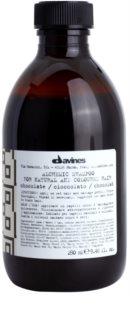 Davines Alchemic Chocolate šampon pro zvýraznění barvy vlasů