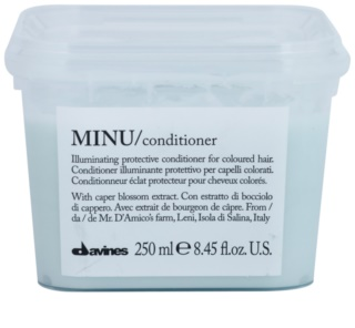 Davines Minu Caper Blossom Protective Conditioner For Colored Hair