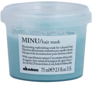 Davines Minu Caper Blossom obnovující maska pro barvené vlasy
