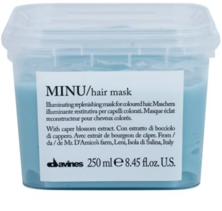 Davines Minu Caper Blossom Restoring Mask For Colored Hair