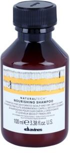 Davines Naturaltech Nourishing champô para couro cabeludo desidratado e cabelos quebradiços e secos