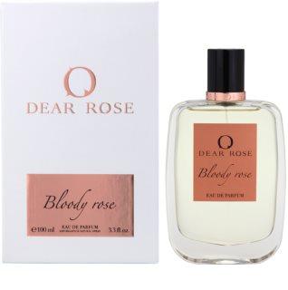 Dear Rose Bloody Rose Eau de Parfum für Damen 100 ml
