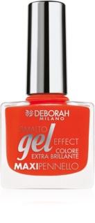 Deborah Milano Smalto Gel Effect verniz de unhas efeito gel