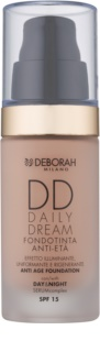 Deborah Milano DD Daily Dream make-up a bőr öregedése ellen SPF 15