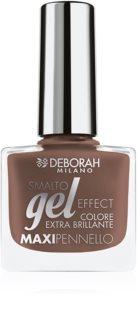 Deborah Milano Smalto Gel Effect lac de unghii cu efect de gel