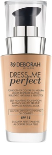 Deborah Milano Dress Me Perfect természetes hatású make-up  SPF 15