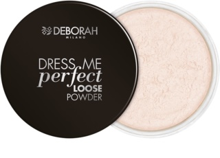 Deborah Milano Dress Me Perfect zmatňujúci sypký púder