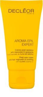 Decléor Aroma Epil Expert borotválkozás utáni nyugtató krém a szőrnövekedés lassítására