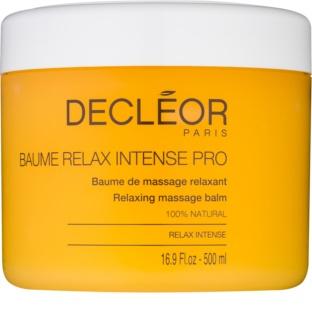Decléor Relax Intense balsam relaksujący do masażu z olejkami eterycznymi