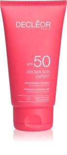 Decléor Aroma Sun Expert Bräunungscreme für das Gesicht mit Anti-Falten-Effekt SPF50