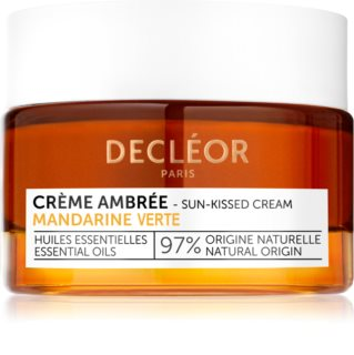 Decléor Aromassence Mandarin κρέμα με χρώμα για το πρόσωπο με λειαντικό αποτέλεσμα