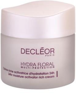 Decléor Hydra Floral богат хидратиращ крем за нормална и суха кожа